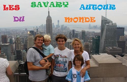 LES SAVARY AUTOUR DU MONDE